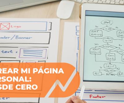 Crear página web personal
