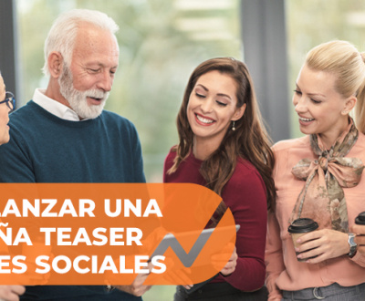 Teaser en redes sociales